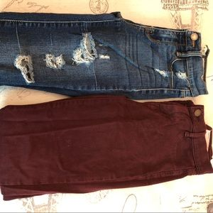 Pacsun brand jeans. Worn a couple of times.